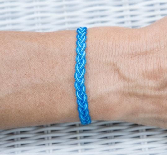 fil coton bracelet bresilien