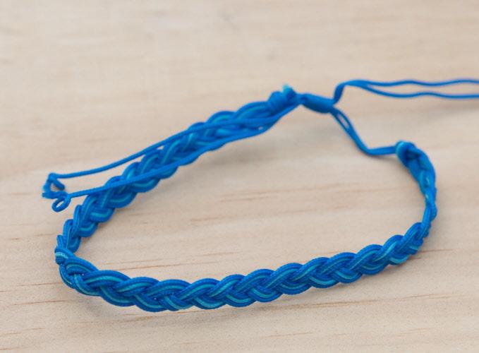 Bracelet br silien fil coton tress bahia souhait bi color marron blanc vente bracelet amiti - Longueur fil bracelet bresilien ...
